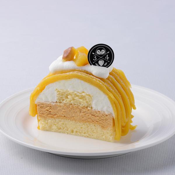 安納芋のキャラメルケーキ